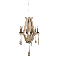 "Bordeaux 19"" Wine Barrel Chandelier"