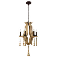 Bordeaux Small  Wine Barrel Chandelier