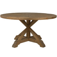 Eucalyptus Round Dining Table 59&quot;
