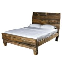 Angora Reclaimed Wood Platform Bed