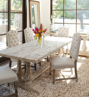 Windsor Double Trestle Table