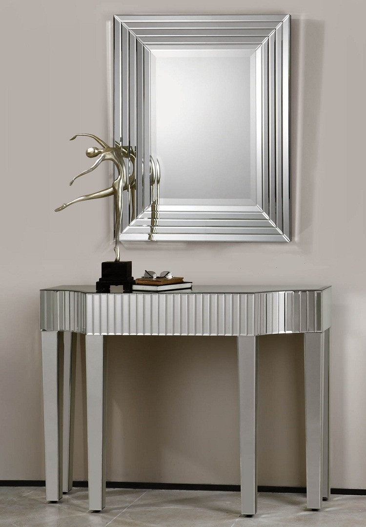 Ikona Mirrored Console Table | 48