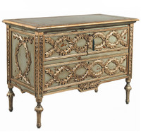French Olive Branch Chest