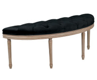 Royal Bed Bench- Velvet Tufted