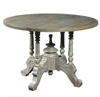 Hayden Round Pedestal Dining Table 43""