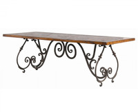 Baroque 90&quot; Mason Dining Table