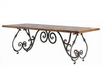 "Baroque 90"" Mason Dining Table"