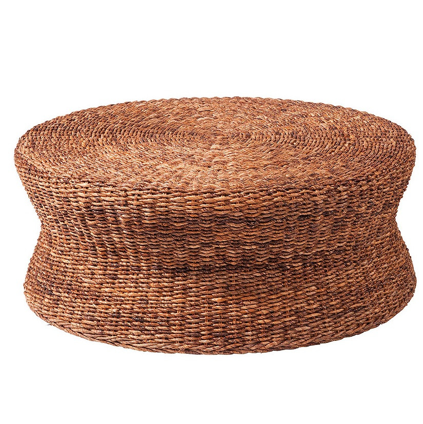 Lanai Round Coffee Table 38 Lanai Woven Round Coffee