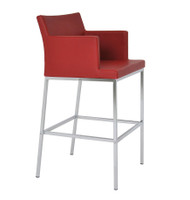 Soho Chrome Counter Stool