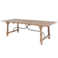 Farmhouse Dining Table 98&quot;