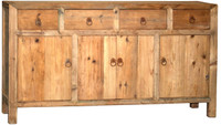 4 DOOR 4 DRAWER SIDEBOARD 67""