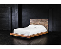 Grant Reclaimed Wood Queen Platform Bed