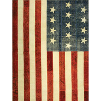 American Flag Patchwork Rugs