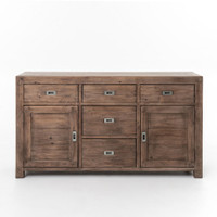 Parsons Reclaimed Wood Sideboard Buffet 61''