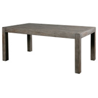 Parsons Dining Table 71''-Sundried Ash