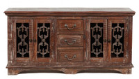 Cambria 4 Door 3 Drawer Buffet Cabinet