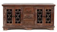 Cambria 4 Door 3 Drawer Buffet Cabinet
