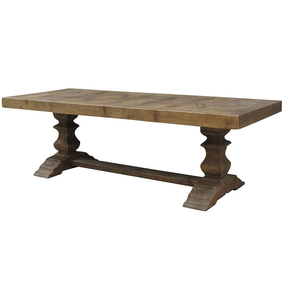 english castle dining trestle table 98 zin home