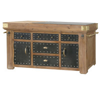 Belmont Kitchen Island 68""