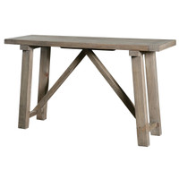 Farmhouse Console Table 55""