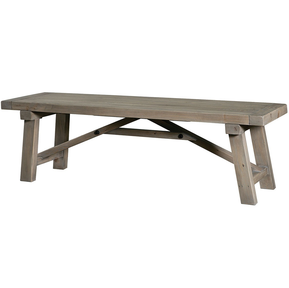 farmhouse 73 dining bench reclaimed wooden dining
