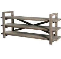 Farmhouse Low Media Shelf