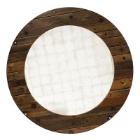 Damon Round Mirror 55&quot;
