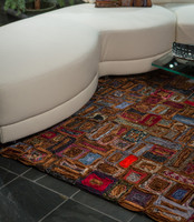 Executive Rectangle Rug-Browns