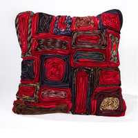 Executive Rectangle Pillow-Red