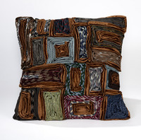 Executive Rectangle Pillow-Browns