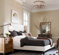Metropolitan upholstered king beds