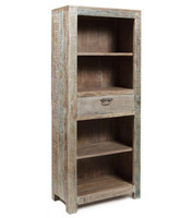 Hampton Teak 1 Drawer Bookcase