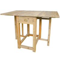 Swedish Drop-Leaf Kitchen Table