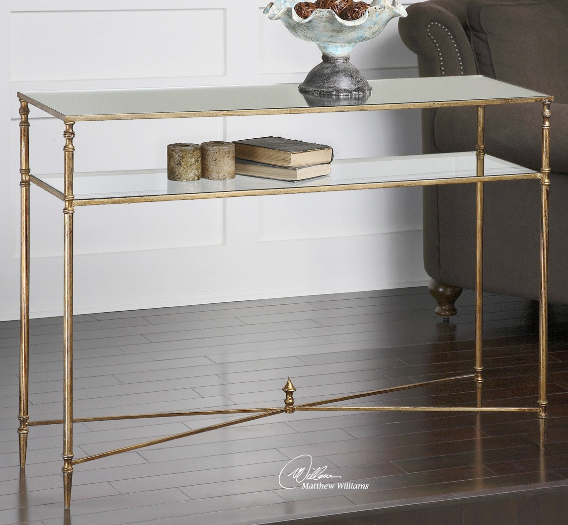 Henzler Mirrored Console Table | Zin Home