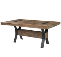 Industrial Dining Table 94&quot;