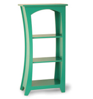 Reversible Curved Bookcase-Medium