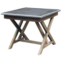 Bluestone Square End Table 25""