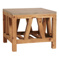 Bluestone End Table 24&quot;