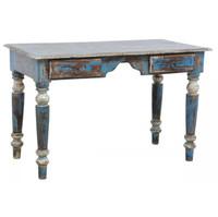 Shabby Chic Vintage Desk-Blue