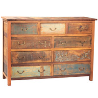 Shabby Chic 9 Drawer Dresser