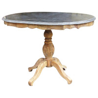 Bluestone Oval Dining Table 47&quot;