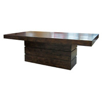 Angora Dining Table 89&quot;-Acorn