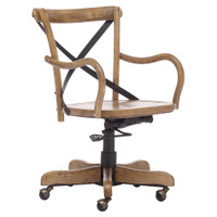 Union Square Antique Natural Office Chair