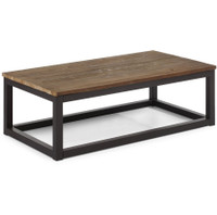 Civic Wood and Metal Coffee Table