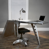 Airfoil Desk - Aluminum