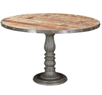 French Soda Fountain Round Table 47&quot;