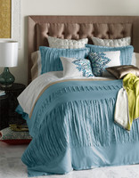 Layla Gulf Blue Duvet Set