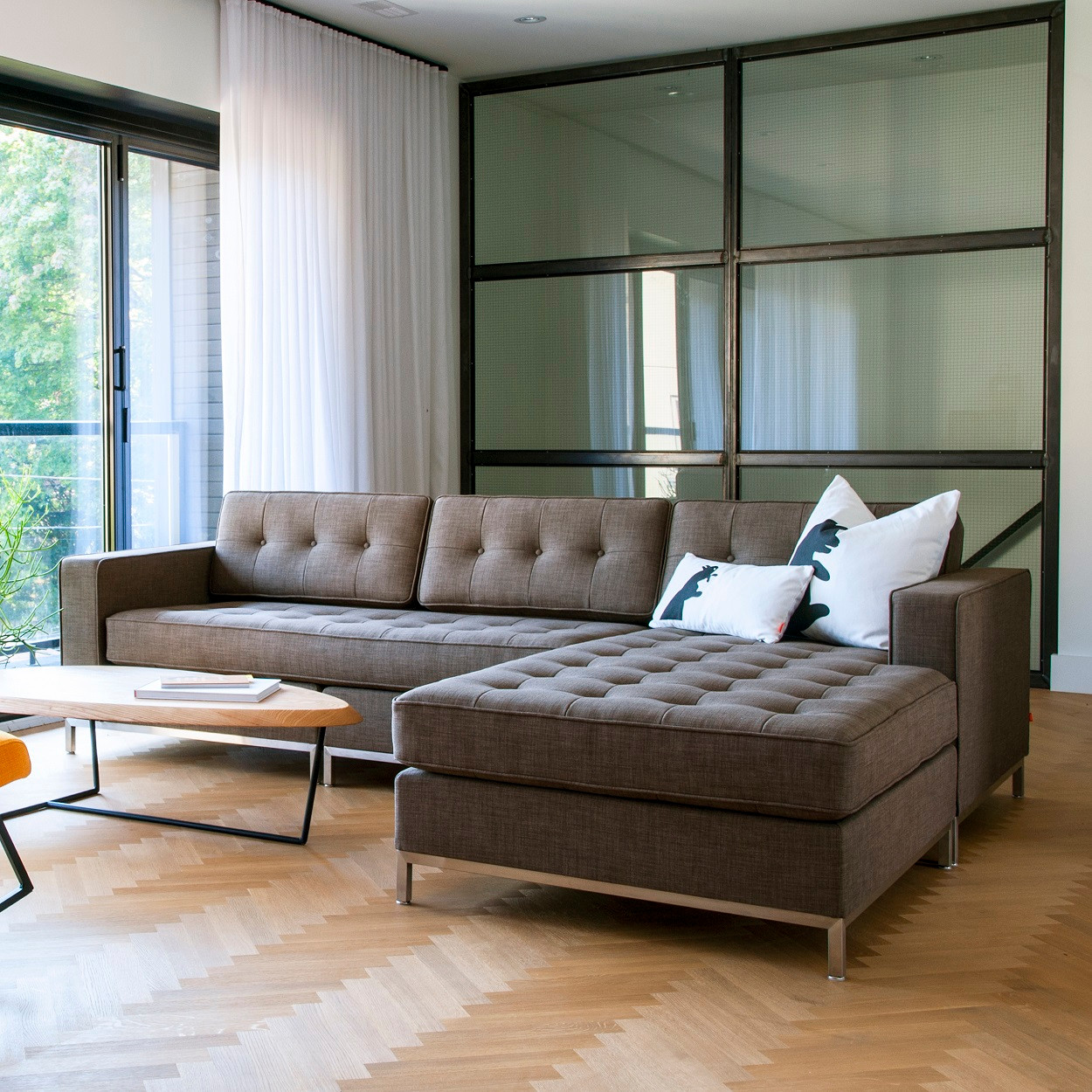 Gus modern Jane Bi-Sectional Sofa : jane bi sectional - Sectionals, Sofas & Couches