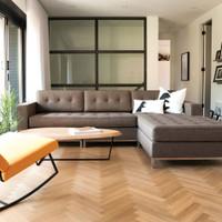 Gus Modern Modular Jane LOFT Bi-Sectional sofa