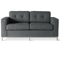 Gus Modern Jane Loveseat URBAN TWEED INK